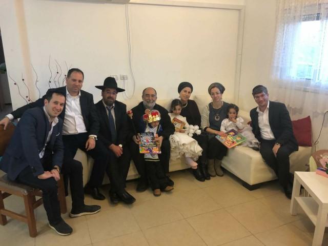"""מפגש מרגש במיוחד בין ראשי זק""""א ישראל -ילדים של החיים לבני משפחת הרב איתמר בן גל הי""""ד"""