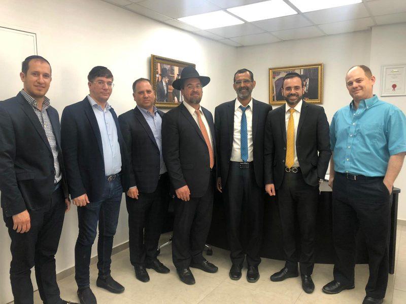 """שיתופי פעולה חדשים למען משפחות נפגעי הטרור ותאונות בין זק'א ישראל למ""""מ ר""""ע פתח תקווה הרב בוסו"""