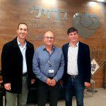 """מסיבת חנוכה מרגשת של זק""""א ישראל במחלקת הילדים של בית החולים ברזילי באשקלון"""