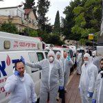 """בסיוע זק""""א ישראל וזק""""א ת""""א: אותרו 1200 חולים מאומתים בערים החרדיות במהלך החג"""