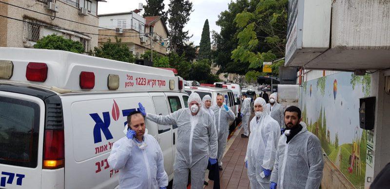 """בסיוע זק""""א ישראל-ילדים של החיים וזק""""א ת""""א: אותרו 1200 חולים מאומתים בערים החרדיות במהלך החג"""