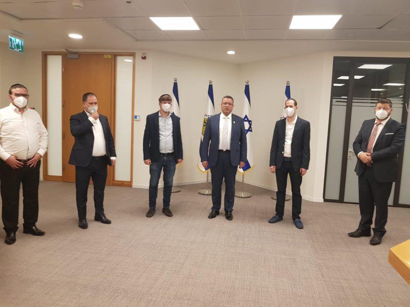 """ראשי זק""""א ישראל בפגישת היערכות עם ראש עיריית ירושלים וצוות העירייה"""