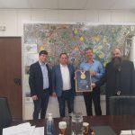 ראשי הארגונים זק״א ישראל וזק״א ת״א בטקס הענקת תעודת הוקרה לראש עיריית רמלה מיכאל וידל