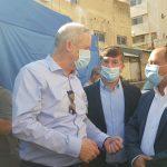 """במהלך פגישתו עם ראשי זק""""א ישראל הודה שר הביטחון בני גנץ על הפעילות לקטיעת שרשרת ההדבקה"""