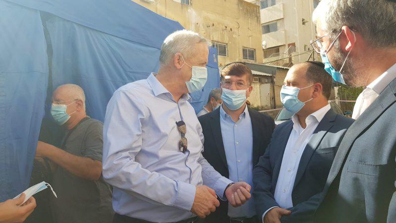 """במהלך פגישתו עם ראשי זק""""א ישראל -ילדים של החיים הודה שר הביטחון בני גנץ על הפעילות לקטיעת שרשרת ההדבקה"""